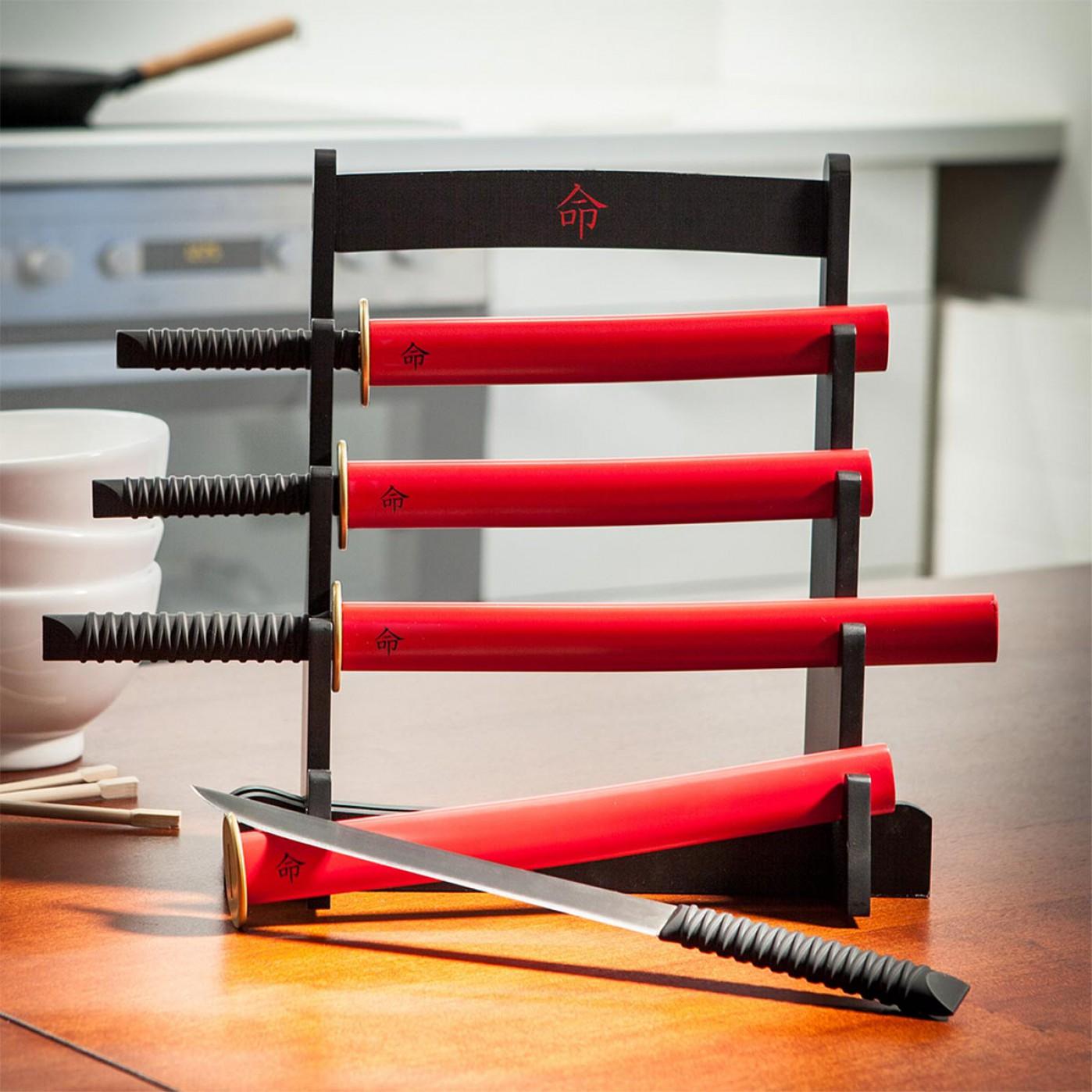 Samurai Küchenmesser Set   Get Edgy